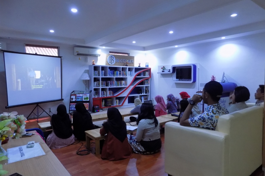 """NOBAR"" BI Movie di BI Corner Perpustakaan STEI"