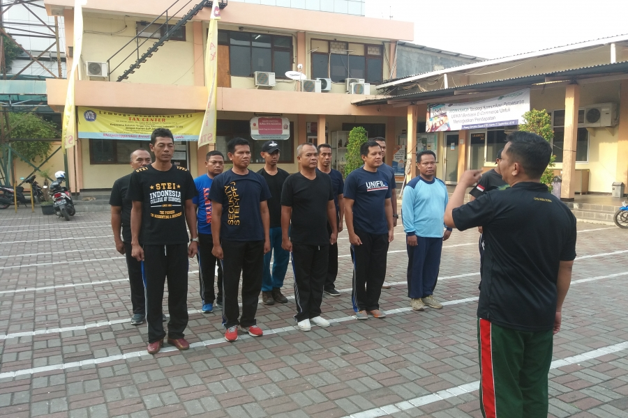 CHARACTER BUILDING BAGI SECURITY STEI