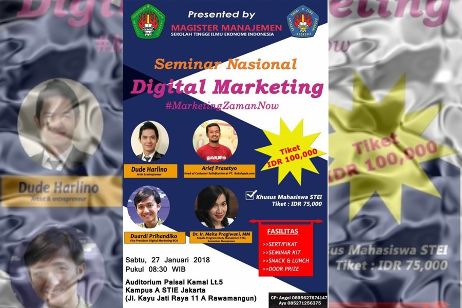 Seminar Nasional Digital Marketing