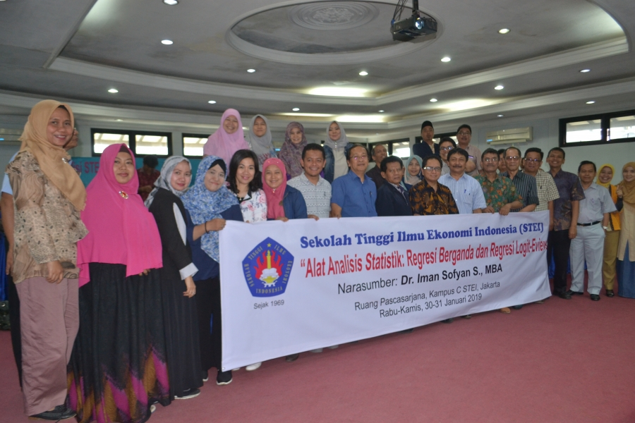 Workshop Alat Analisis Statistik Regresi Berganda Dan Regresi Logit-Eviews